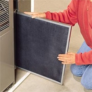 Changing Air Filter | Air Conditioning Service & Repair | Accurate Aire Control